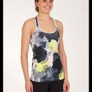 Lululemon Cool Racerback In Citron Tinted Canvas